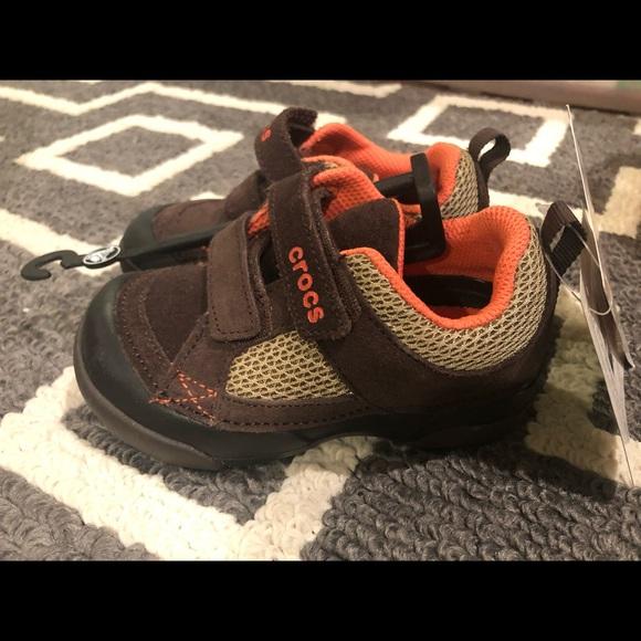 fd5c6291f3a855 Crocs Toddler boys - Dawson Easy-on Shoe